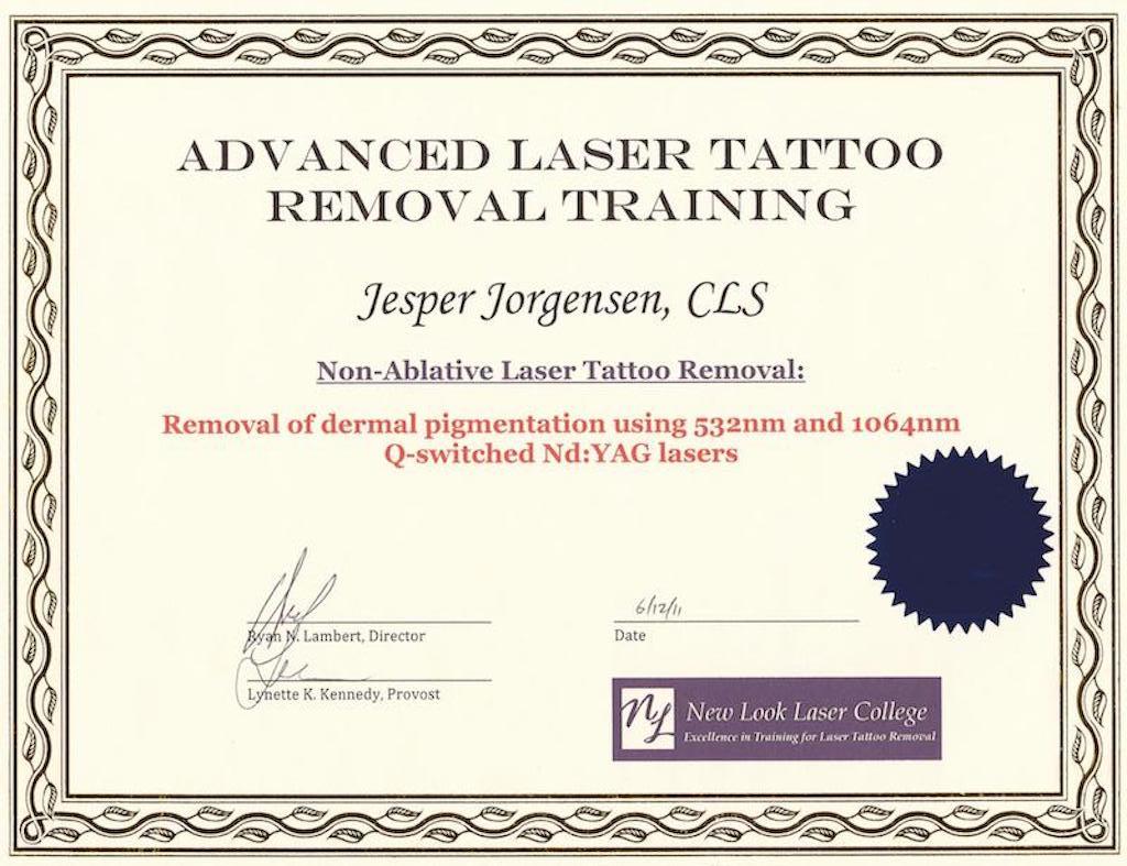 certifikat nr. 3.